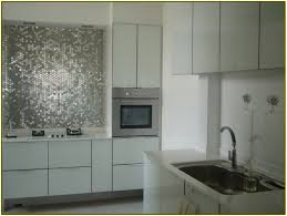 bathroom astounding mirrored tile backsplash with white kitchen