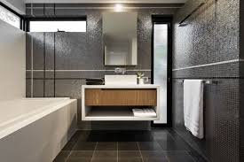 Mirrored Bathroom Wall Tiles - bathroom ideas double sink floating bathroom vanity under large