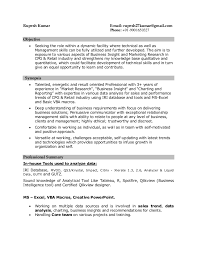 resume cpg fmcg market research data analyst