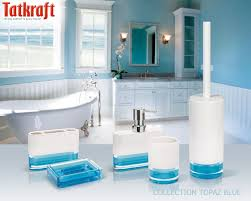 Aqua Colored Bathroom Accessories by 14 Best Acrylic Bathroom Accessories Images On Pinterest