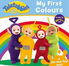 teletubbies colours lift flap teletubbies