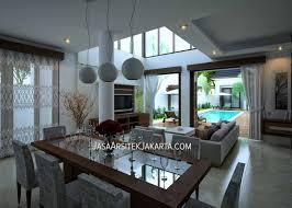 desain rumah luas 350 m2 2 lantai dari jasa arsitek jakarta