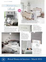 Period Homes And Interiors Media Coverage Wrought Iron And Brass Beds Iron Beds Brass Beds