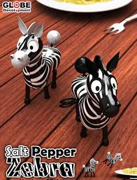 zebra salt u0026 pepper shakers product review and prize giveaway