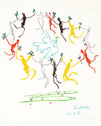 pablo picasso the youth circle la ronde de la jeunesse 1961