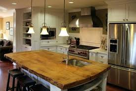 kitchen island wood top kitchen island tops reclaimed wood exquisite with top ideas 3