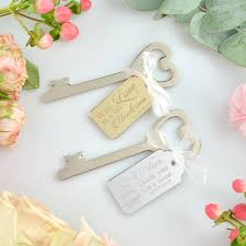 key bottle opener wedding favors personalized heart bottle openers bomboniere with engraved acrylic
