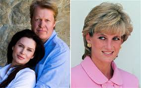 lady charlotte diana spencer earl spencer names baby daughter after diana princess of wales