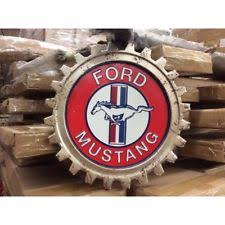 ford mustang metal wall ford mustang metal sign garage signs décor ebay