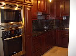 dark stained kitchen cabinets u2014 decor trends make stained