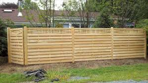 wood privacy fence panels w redwood lattice top fence panel best