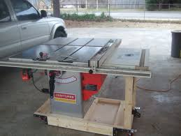 table saw mobile base tablesaw mobile base router table extention wing folding outfeed