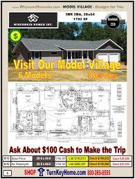 modular home model village