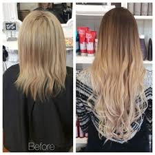 Human Hair Extensions Nz la villa hairdressing and extensions