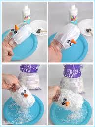 snowman jar luminary ornament craft idea tween craft ideas