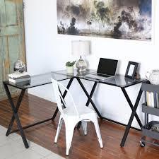 walker edison furniture company x frame smoke desk hd51x29sm the