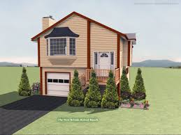 Split Ranch House Plans by New Britain Raised Ranch House Plan