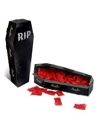 halloween coffins decorations