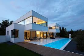 House Plans Lots Of Windows Inspiration House Design Cool Inspiration With White Wall Large Glass Windows