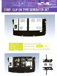 clip on generator set reefercontainer reefercontainers reefer