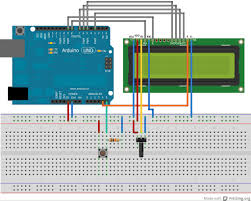 turn on lcd backlight by button arduino theuzo007