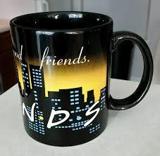 friends tv show 12 oz coffee mug cup mint condition good coffee