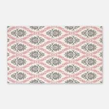 Pink Grey Rug Gray And Pink Damask Rugs Gray And Pink Damask Area Rugs Indoor