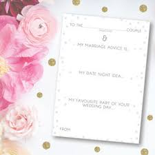 Words Of Wisdom For Bride And Groom Cards Wedding Advice Cards Wedding Table Cards Notonthehighstreet Com
