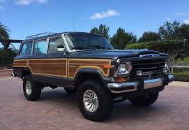 jeep grand 3 lift colors 1986 jeep grand wagoneer bring a trailer