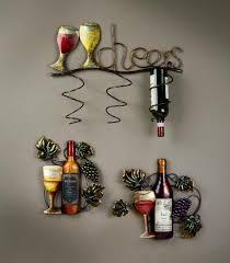 Kitchen Wall Decor Ideas by Wine Bottle Kitchen Decor Kitchen Design