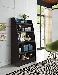 Dr Bookcase Amazon Com Ameriwood Home Hazel Kids 4 Shelf Bookcase Espresso