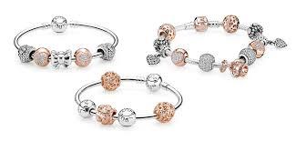 bracelet pandora gold images Rose gold pandora jpg