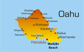 map of waikiki map of waikiki hawaii islands showing attractions
