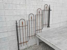 Garden Wall Railings by Rustic Fence Design Wrought Iron Stair Railing
