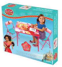 disney elena of avalor kids activity table and chairs set toys