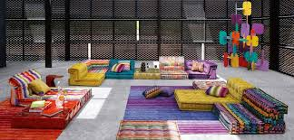 mah jong canapé mah jong composition missoni home out of site fabric
