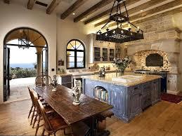 Mediterranean Kitchen Designs Decoration Mediterranean Kitchen Design With Simple Granite