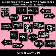 photobooth props instant wedding photo booth props printable pdf