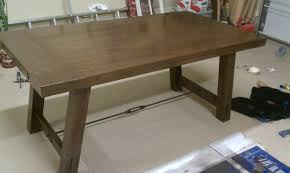 Pottery Barn Office Furniture Ana White Pottery Barn Benchwright Farmhouse Dining Table Diy