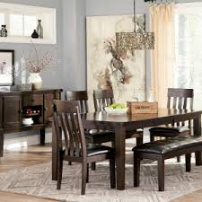 square dining table with bench dining set ashley dining room sets to transform your dining area