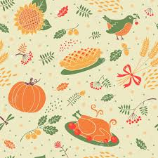 seamless pattern autumn season beautiful background for