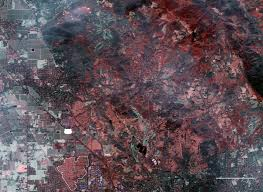 California Wildfire Satellite View by Satellite Images Reveal The Devastation Of The California Fires