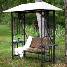 patio swing bed with canopy home design ideas