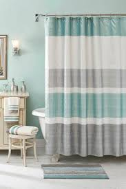 bathrooms with shower curtains modern home