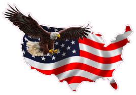 Free American Flag Stickers American Eagle United States Decal Nostalgia Decals