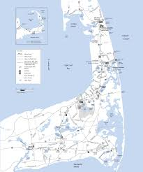 map of the cape cod rail trail
