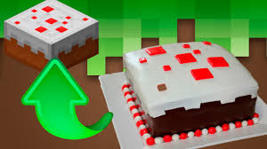 minecraft 8 pasteles de la vida real de minecraft youtube