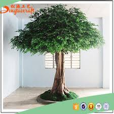 large outdoor artificial trees size big shade trees factory