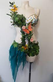 Garden Fairy Halloween Costume Garden Fairy Rave Bra Revoltcouture Etsy 80 00 Rave Bras