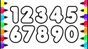 free coloring pages number 2 numbers coloring pages 123 how to draw 0 9 and ribsvigyapan com by